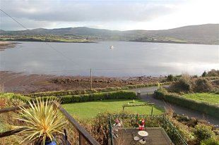 House for sale in West Cork - Sea view from the upper terrace